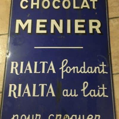 Plaque émaillé CHOCOLAT MENIER