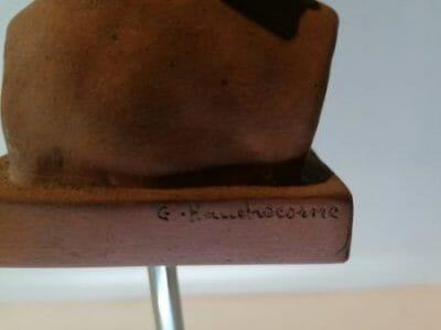 Terre Cuite G. Hauchecorne brocante castres antiquités brocante en ligne du Tarn