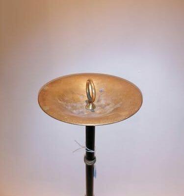 Image illustrant la coupelle du cendrier Jacques Adnet à la vente sur la brocante castraise Vintage French Art