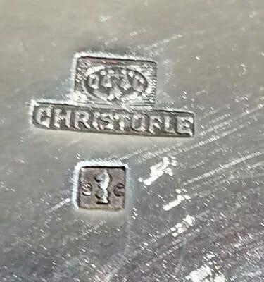 Image illustrant le fond d'un seau à champagne Vulcain original Luc Lanel Pour Christofle pour la brocante de Castres dans le Tarn