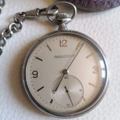 montre à gousset de collection, Jaeger Lecoultre Brocante Castres Tarn (81)
