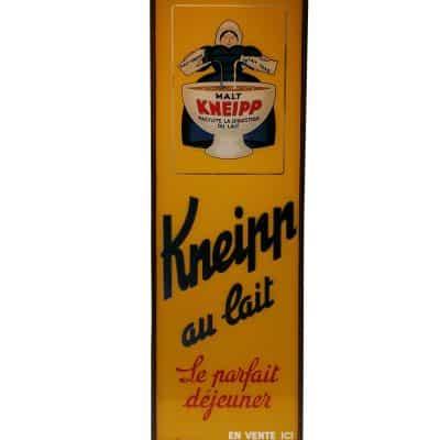 Plaque ancienne publicitaire publicité vintage MALT Kneipp - Brocante - Castres - Tarn