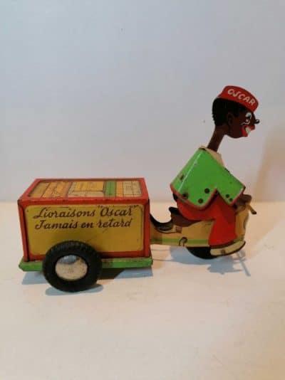 Brocante Castres Oscar jouet vintage en tôle