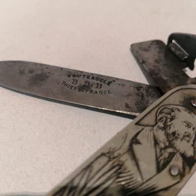 Couteau Jaures Brocante Castres 5