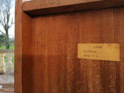 face arrière du meuble scandinave vintage années 60 en teck brocante castres a vendre